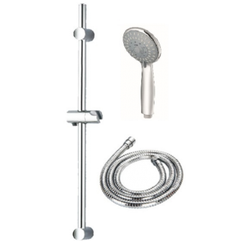 Roz RH552CP+RH006SET4 3-Func Shower Set Cp