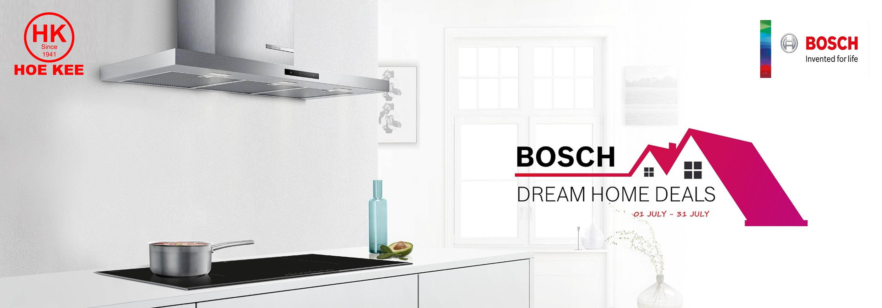 Bosch Dream Home Deals